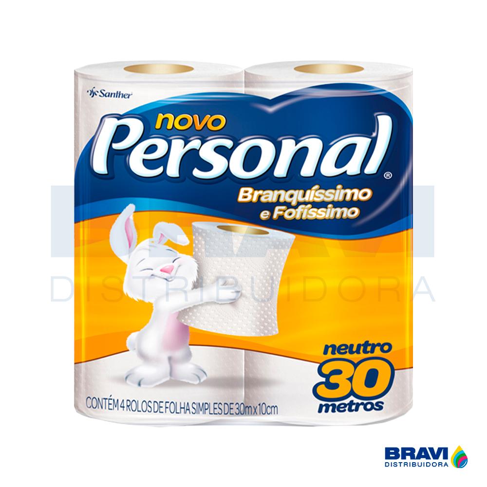 Papel Higiênico Personal Folha Simples Hps45