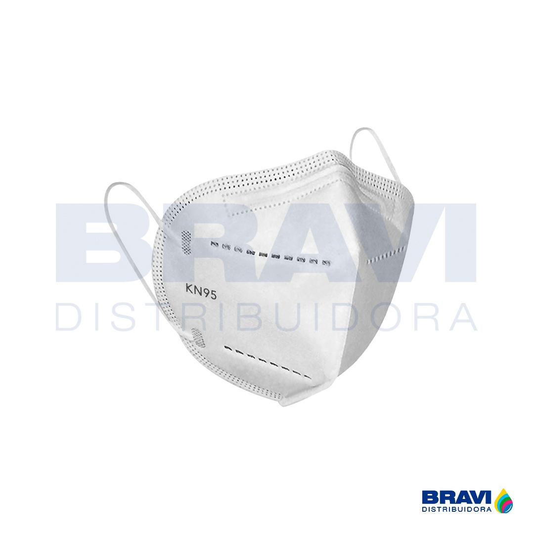 Máscara De Proteção Respiratória Kn95 Sem Válvula