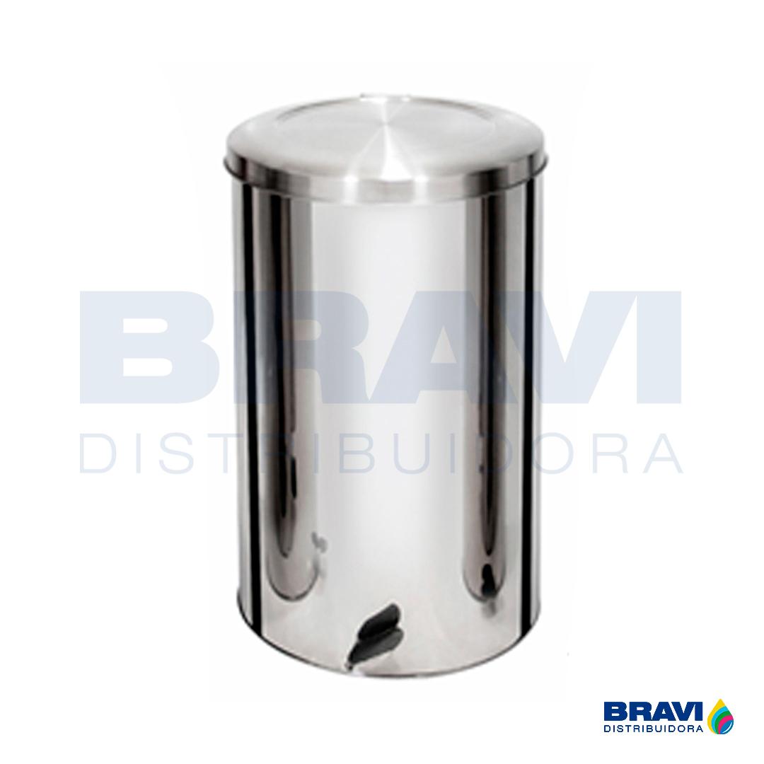 LIXEIRA INOX C PEDAL 40L  ECOBIN