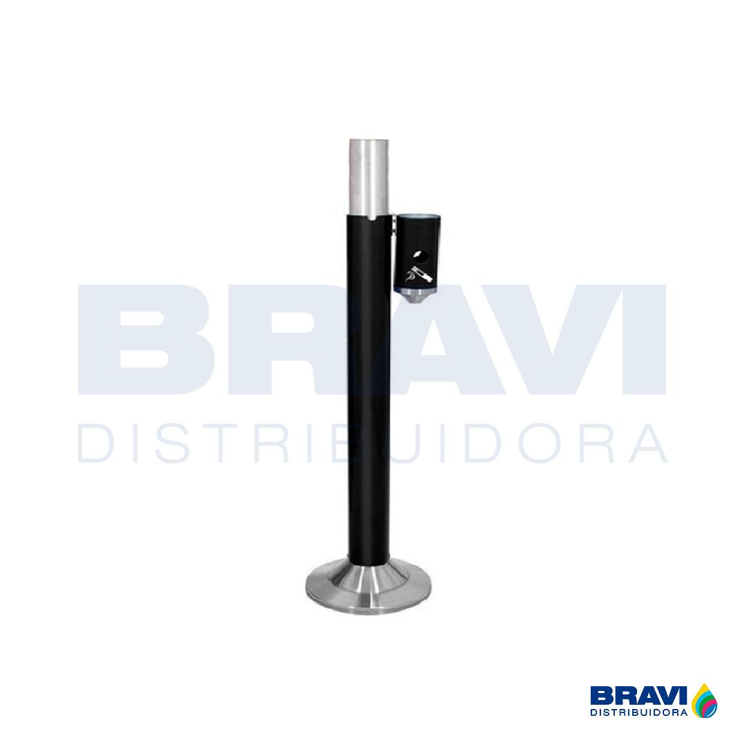 Cinzeiro Inox Slim Pedestal Ecobin