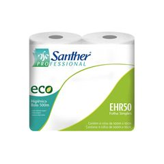Papel Higiênico Rolo Inovatta Folha Simples Ehr50 Santher